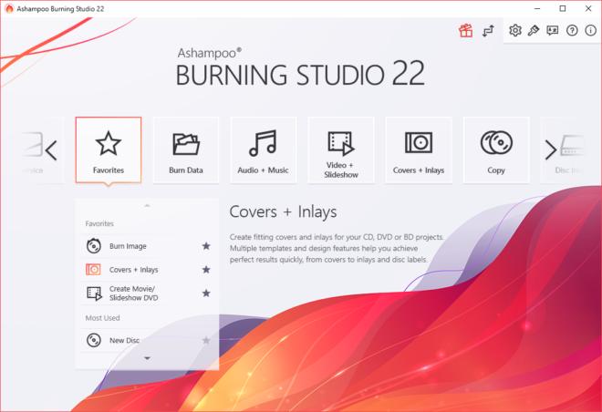 Burning Studio 22 Light Theme