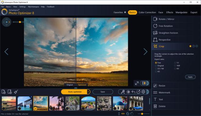 Photo Optimizer Start