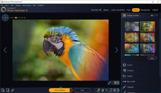 Photo Optimizer Image Overlay