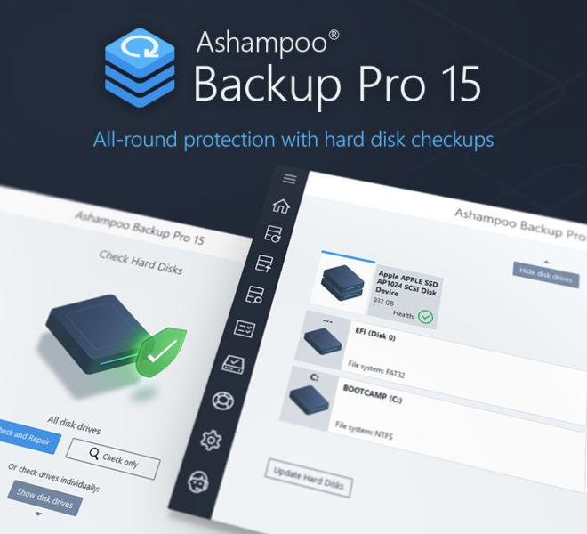Backup Pro 15 Checkdisk